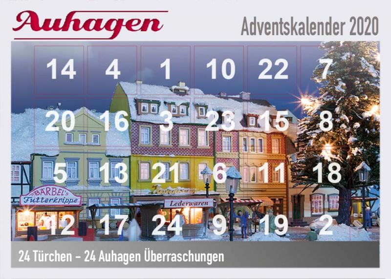 Auhagen Adventskalender 2020