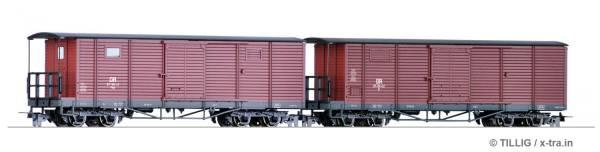 Schmalspur Güterwagenset der DR. TILLIG 05940