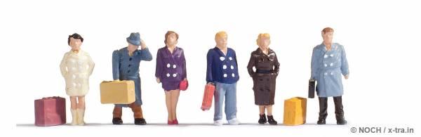 Reisende, Set mit 6 Figuren. NOCH 15219