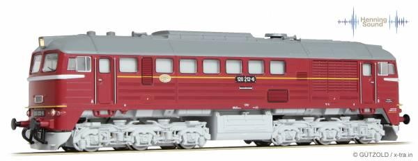 GÜTZOLD 31050123 - Diesellokomotive 120 212-6 der DR