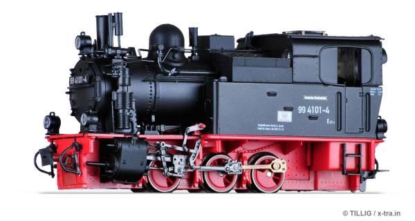 Schmalspur Tenderlokomotive Baureihe 99 4101 der DR. TILLIG 02971