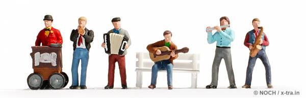 NOCH 12905. Straßenmusiker.