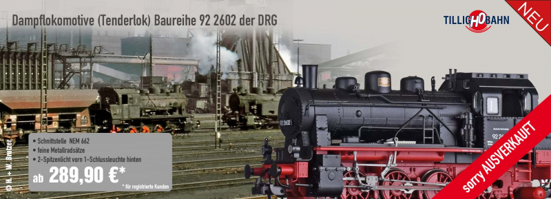 Tillig ELNA 72012 Dampflokomotive