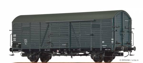 BRAWA 48721 - Gedeckter Güterwagen Bauart Kuw der CFL