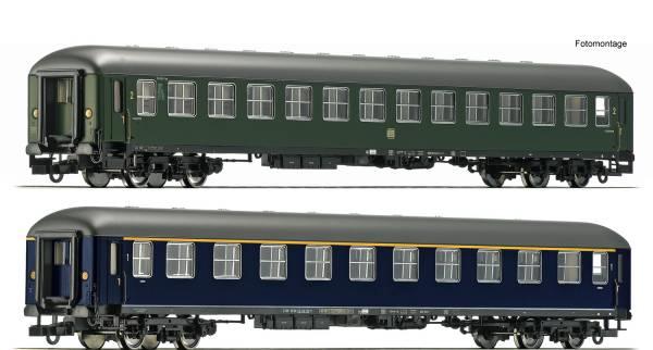 Roco 74113- Set: Schnellzugwagen des Museums Darmstadt-Kranichstein