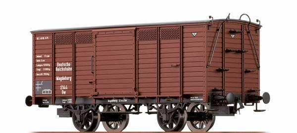 BRAWA 48028 - Gedeckter Güterwagen Bauart Gw der DRG
