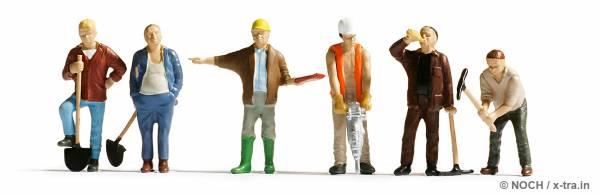 Bauarbeiter. NOCH 36110