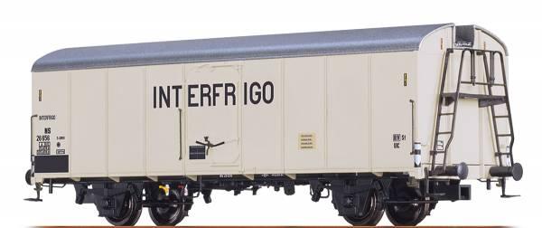 """BRAWA 48343 - Kühlwagen UIC Standard 1 """"INTERFRIGO"""" der NS"""