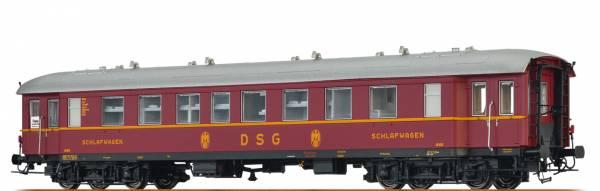 BRAWA 46186 - Schlafwagen Bauart WL4ü-36/50 der DSG