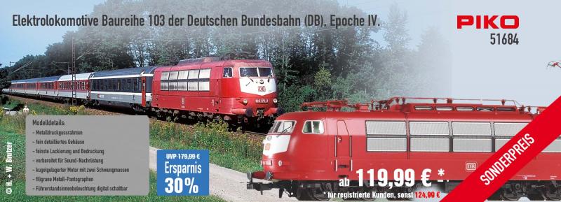 PIKO Baureihe 103 51684
