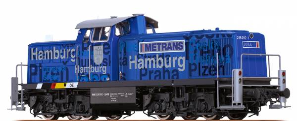 """BRAWA 41536 - Diesellokomotive Baureihe 295 """"Hamburg"""" der METRANS"""