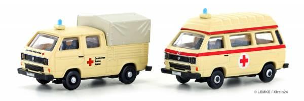 ᐅ LEMKE LC4332 - 2-teiliges Set VW T3 des DRK