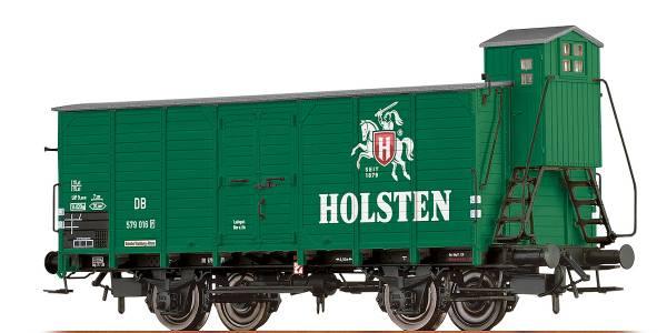 """BRAWA 67478 - Bierwagen Bauart G10 """"Holsten"""" der DB"""