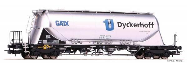 ᐅ PIKO 58432 - Silowagen Bauart Uacns der GATX Dyckerhoff