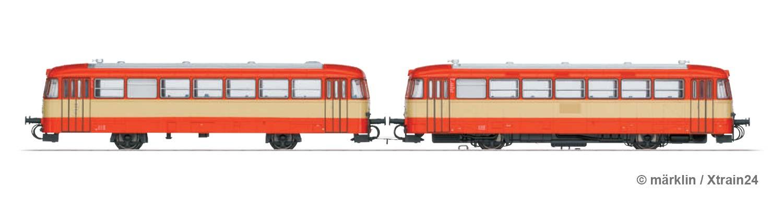 Zugbildung für märklin - H0   2-tlg. Triebwagen-Garnitur der AKN