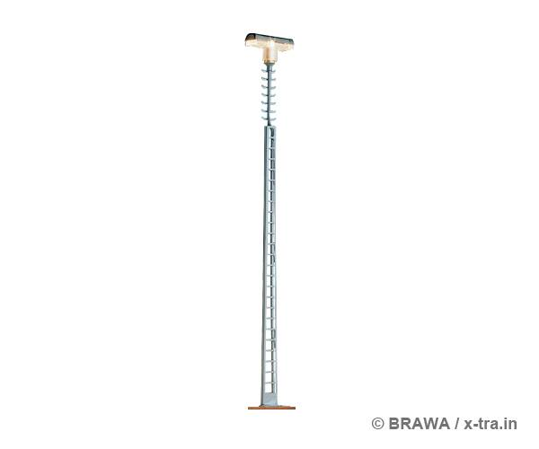 Moderne Gittermastleuchte.mit LED. BRAWA 84023