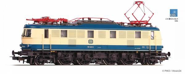 PIKO 51867S - Elektrolokomotive Baureihe 118 (E18) der DB, Epoche IV   mit ESU LokSound5