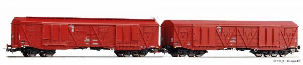 ᐅ PIKO 58232 - 2-tlg. Set Großraumgüterwagen der PKP Cargo, Epoche V