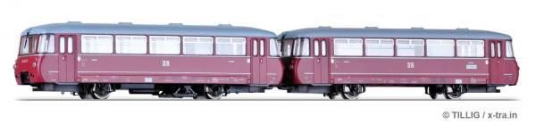 Triebwagen Baureihe 171.0 mit Beiwagen Baureihe 171.8 der DR. TILLIG 73141
