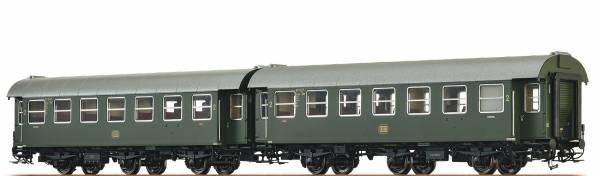 BRAWA 46306 - Personenwagen-Doppeleinheit Bauart B3yge der DB