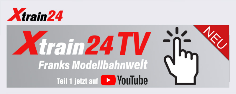 Franks Modellbahnwelt bei Xtrain24.de Teil 1