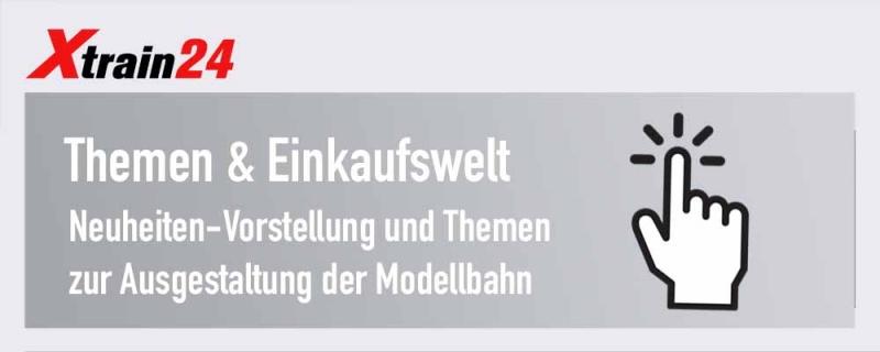 Modellbahn Einkaufs- und Themenwelt