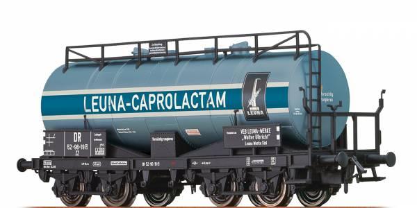 """BRAWA 47414 - Kesselwagen Bauart ZZ """"Leuna-Capprolactam"""" der DR"""