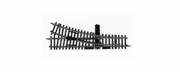 K-Gleis Handweiche rechts, 22°. Märklin 2262