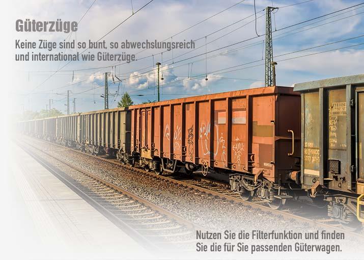 Güterzüge für die Modelleisenbahn