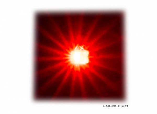 ᐅ FALLER 163740 - 5 selbstblinkende LEDs, rot