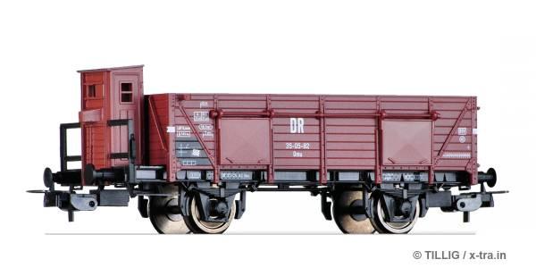 TILLIG 76694. Offener Güterwagen Omu der DR