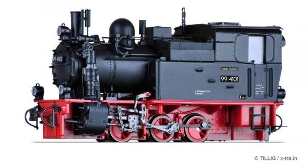 Schmalspur Tenderlokomotive Baureihe 99 4101 der HSB. TILLIG 02972
