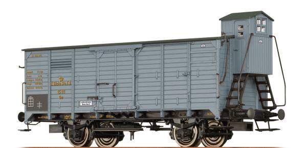BRAWA 49724 - Gedeckter Güterwagen Bauart Gm der K.Sächs.Sts.E.B.
