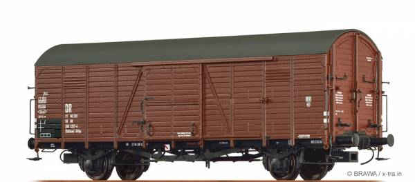 BRAWA 48730 - Gedeckter Güterwagen Bauart Glthu der DR