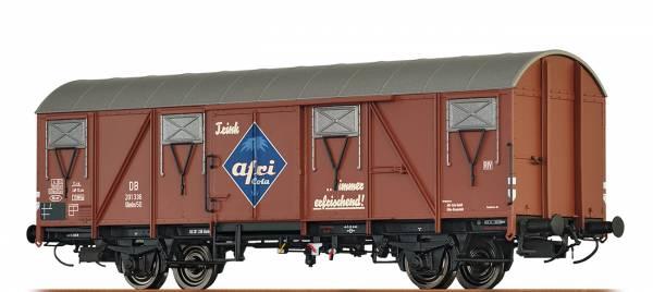 """BRAWA 47272 - Gedeckter Güterwagen, Bauart Glmhs 50 """" Afri Cola"""" der DB"""