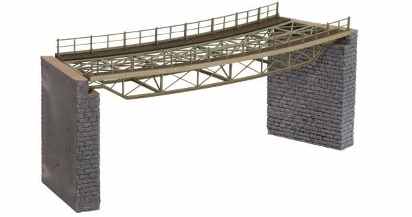 Brückenfahrbahn gebogen, R2 / 437mm. NOCH 67026