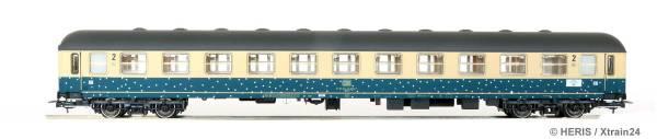 """HERIS 11100 - Liegewagen Bcm 243 der DB, """"Schneeflocke"""""""