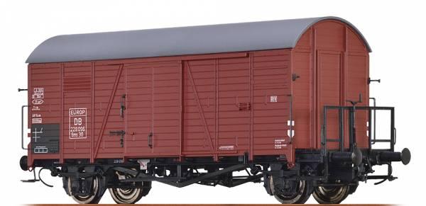 BRAWA 47950 - Gedeckter Güterwagen Bauart Gms 30 der DB / EUROP