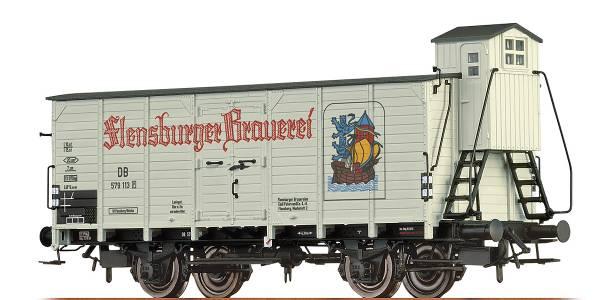 """BRAWA 67477 - Bierwagen Bauart G10 """"Flensburger"""" der DB"""