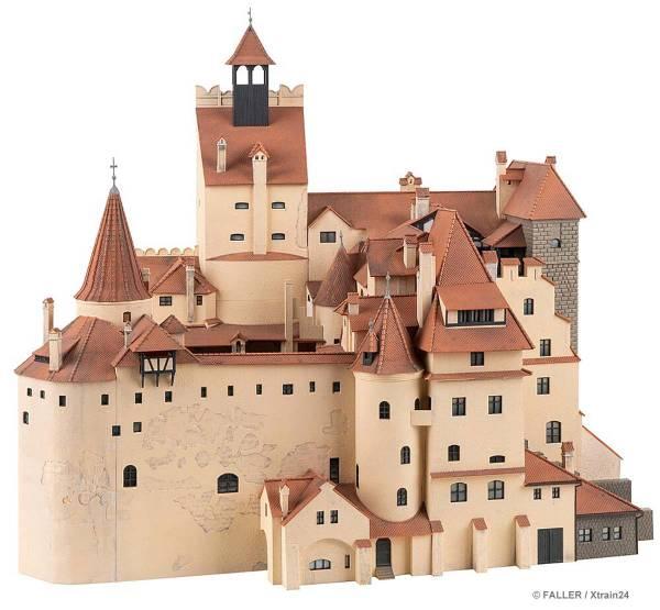 FALLER 130820 - Bausatz Schloss Bran, Jubiläumsmodell | Vorderseite