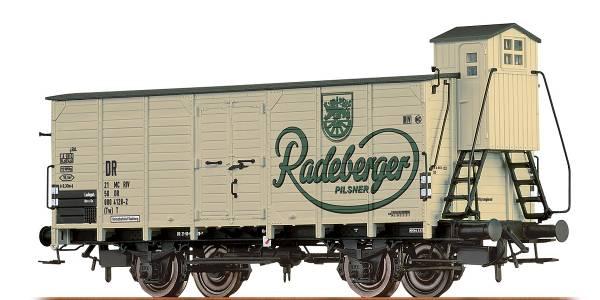 """BRAWA 67481 - Bierwagen Bauart G10 """"Radeberger"""" der DR"""