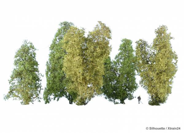 200-11-Silhouette-MiniNatur-Filigranbüsche-Frühling-H0