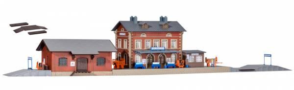 kibri 37396 - Bahnhof Rauenstein mit Güterschuppen