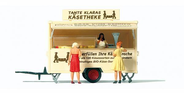 """Preiser 10750 - Verkaufswagen """"Käsetheke"""""""