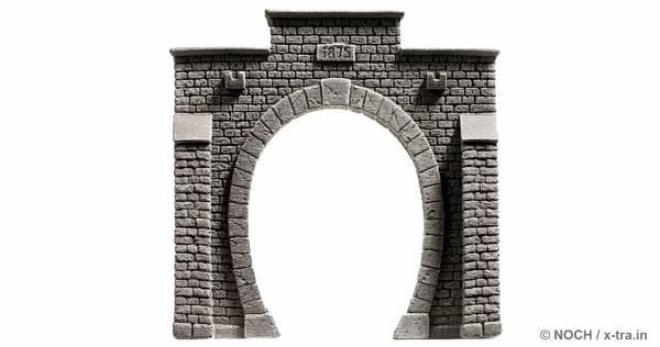 Tunnelportal eingleisig. NOCH 34851