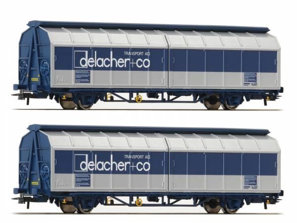 Roco 76877 - Schiebewandwagen-Doppeleinheit, Bauart Himrrs der ÖBB