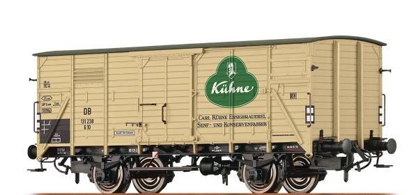 """BRAWA 49730 - Gedeckter Güterwagen Bauart G10 """" Kühne"""" der DB"""
