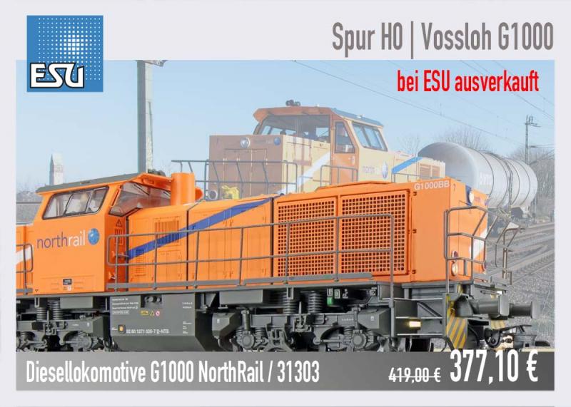 ESU Baureihe G1000 NorthRail 31303