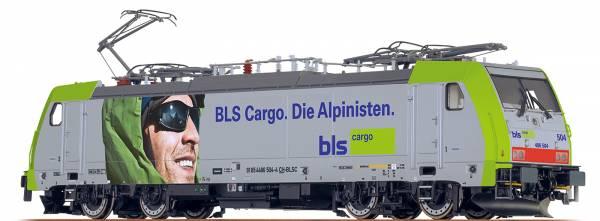 """BRAWA 43996 - Elektrolokomotive TRAXX 186 """"Alpinist"""" der BLS"""