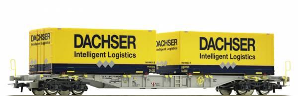Roco 76921 - Containertragwagen Bauart Sgns der AAE